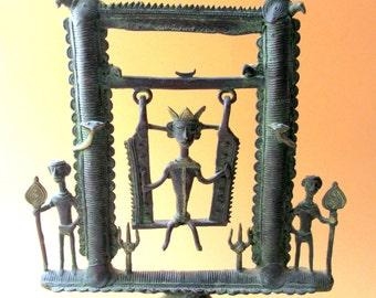 Tribal India Bronze.Bastar Bronze from Jarkhand.