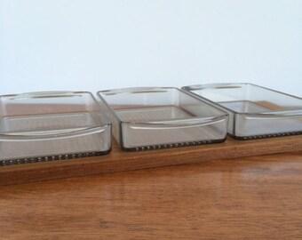ON SALE Luthje Denmark Teak Condiment Tray
