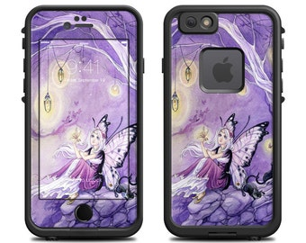 Skin for LifeProof iPhone Case - Chasing Butterflies by Meredith Dillman - Sticker Decal - 6/6S, Plus, 5/5S/SE, 5C, 4/4S, Fre, Nuud