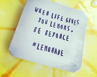 Beyonce lemonade magnet, lemons magnet, refridgerator magnet, when life gives you lemons
