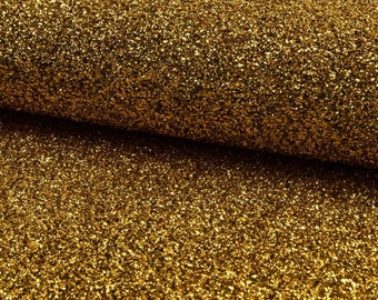 Sparkle Mettalic Tinsel 4 way stretch fabric material /140cm wide / Sparkling GOLD Lurex