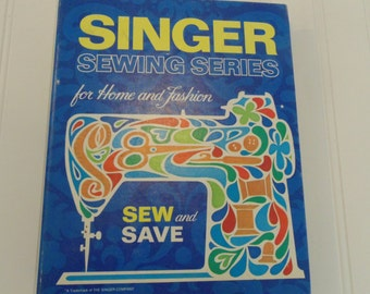 Vintage Singer Sewing Book Fashion Sewing Sewing How To Vintage Sewing Supplies