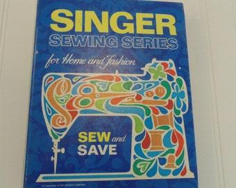 Vintage Singer Sewing Book Fashion Sewing
