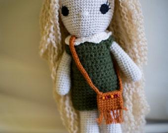 Handmade Crochet Doll Stuffed Toy