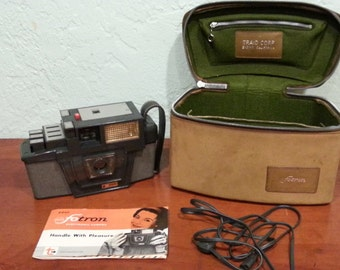 Historic Vintage Fotron Electronic Film Camera 1960s