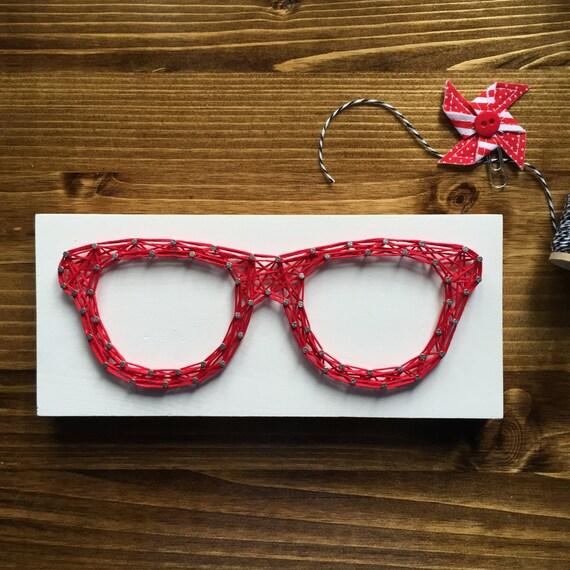 LISTO PARA CADENA cadena arte Mini gafas signo