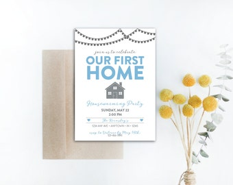 INSTANT DOWNLOAD housewarming invitation / housewarming party invite / new home / first home / house party invitation