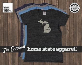 Women's Michigan Home. T-shirt