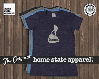 Block Island Home. T-shirt- Womens Cut