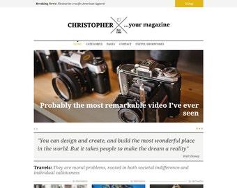 Christopher – Creative & Responsive WordPress Magazine Theme