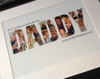 Daddy framed photo print
