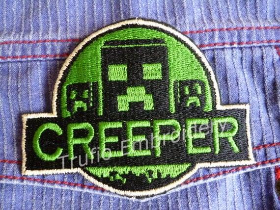 Amazoncom: Customer reviews: Minecraft Logo Embroidered