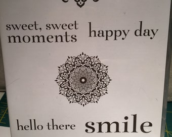 Stamping up Happy Day