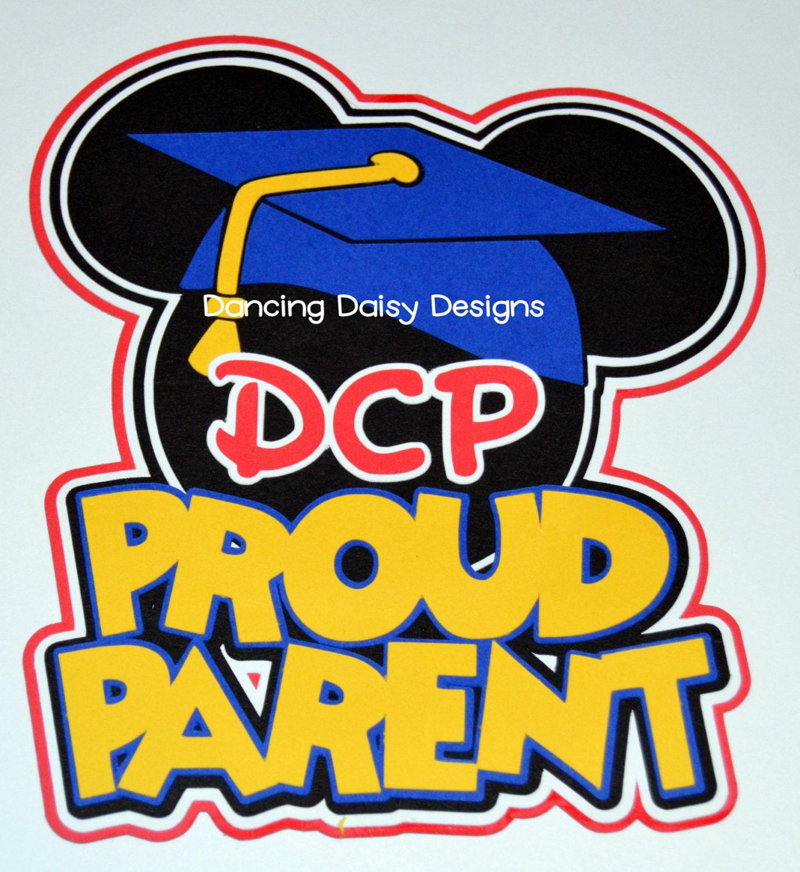 How to scrapbook disney - Disney Scrapbooking Disney Die Cut Disney Scrapbook Dcp Proud Parent College Program Disney College Program Paper Piecings Title