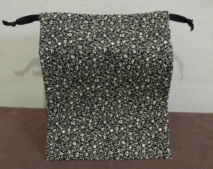 30% off: Small, drawstring project bag