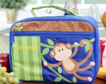 Personalized Monkey Lunch Box