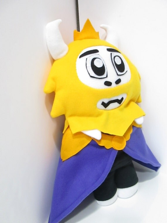 Asgore Plush Inspired By Undertale Unofficial By