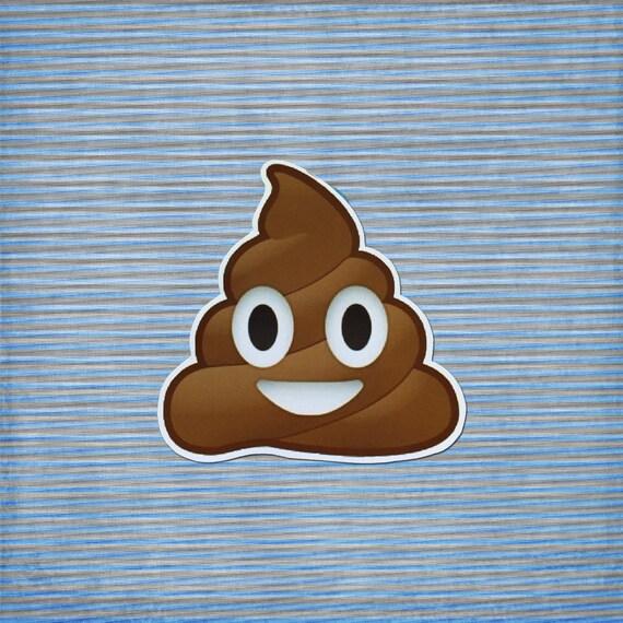 Poo Poop Emoji Cute Fun Novelty Meme Gift For By
