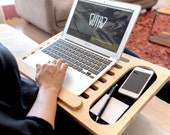 VALENTINES DAY GIFT - Wooden Mobile Laptop Platform Midi