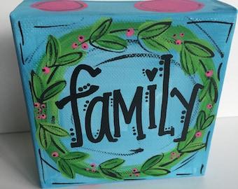 Family Mini Canvas