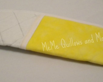 Curling Iron Carrier Yellow