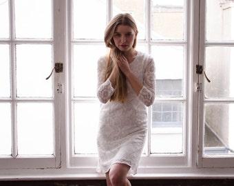 Little White Lace Dress 'Lizzie'
