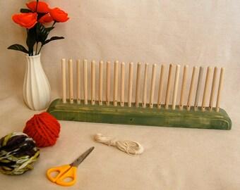Peg Weaving Loom