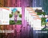 "Lularoe Style Description Cards - Unicorn 4x5.5"""