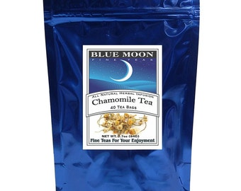 Chamomile Tea Bags, 40 Pack