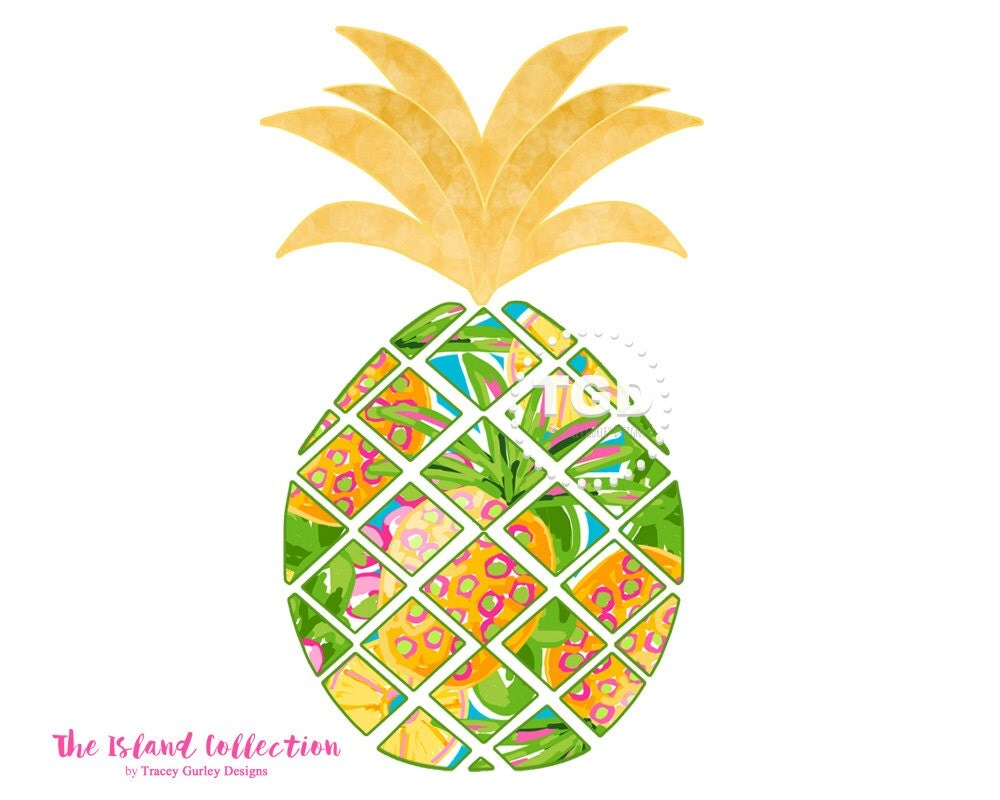 Clip Art Pineapple Cheesecake