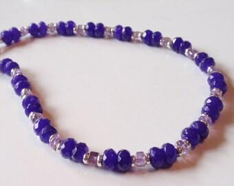Amethyst Necklace   (JK 751)
