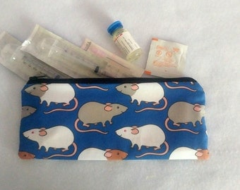 Cute Rat Injection Pouch