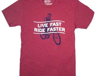 Live Fast Bike Tee