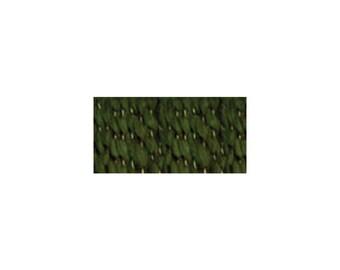 Lion Brand Home Spun Yarn Wreath Green, Soft homespun Yarn, Yarn made in the USA,