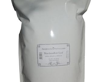 Marshmallow (Althaeae officinalis) Leaf 1 Lb C/s, Florida Herbal Pharmacy