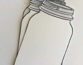Mason Jar Tags