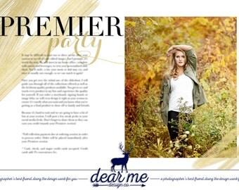 Streak Premier Party magazine spread