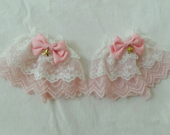 Cardcaptor Sakura Inspired Wrist Cuffs - 2nd Costume Ver. (2 set)