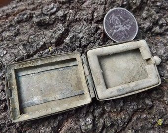 Civil War Soldier's Snuff Case - Dug in a Maine Camp in Falmouth, VA - 100% Authentic & Original Piece of History!  Union, Confederate Army