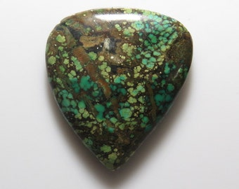 Turquoise - Pear Shape Cabochon size  - 31x35 mm  - weight - 34.35 crt