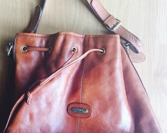 Vintage Italian Leather Purse by Bolon.