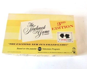 1969 Hasbro The Newlywed Game 3rd Edition Board Game