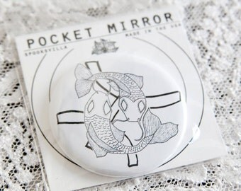 Astrology Pocket Mirrors: Pisces