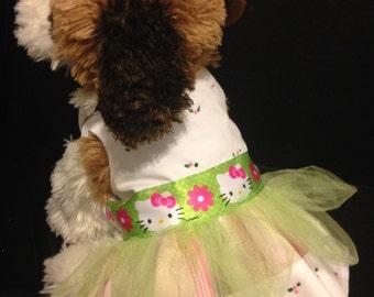 Hello Kitty Dog Dress