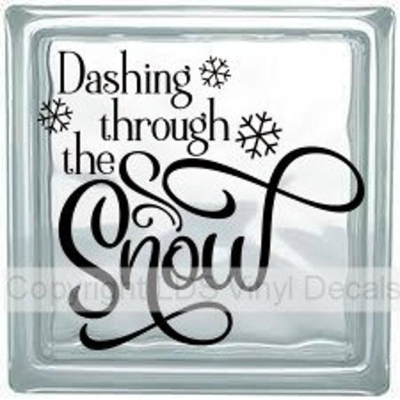 Words To Dashing Through The Snow