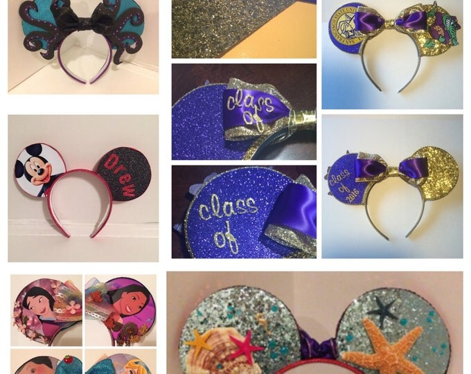 Featured listing image: Customizable Mouse Ears