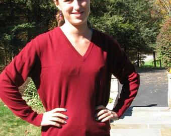 Vintage Cashmere Sweater - Size M
