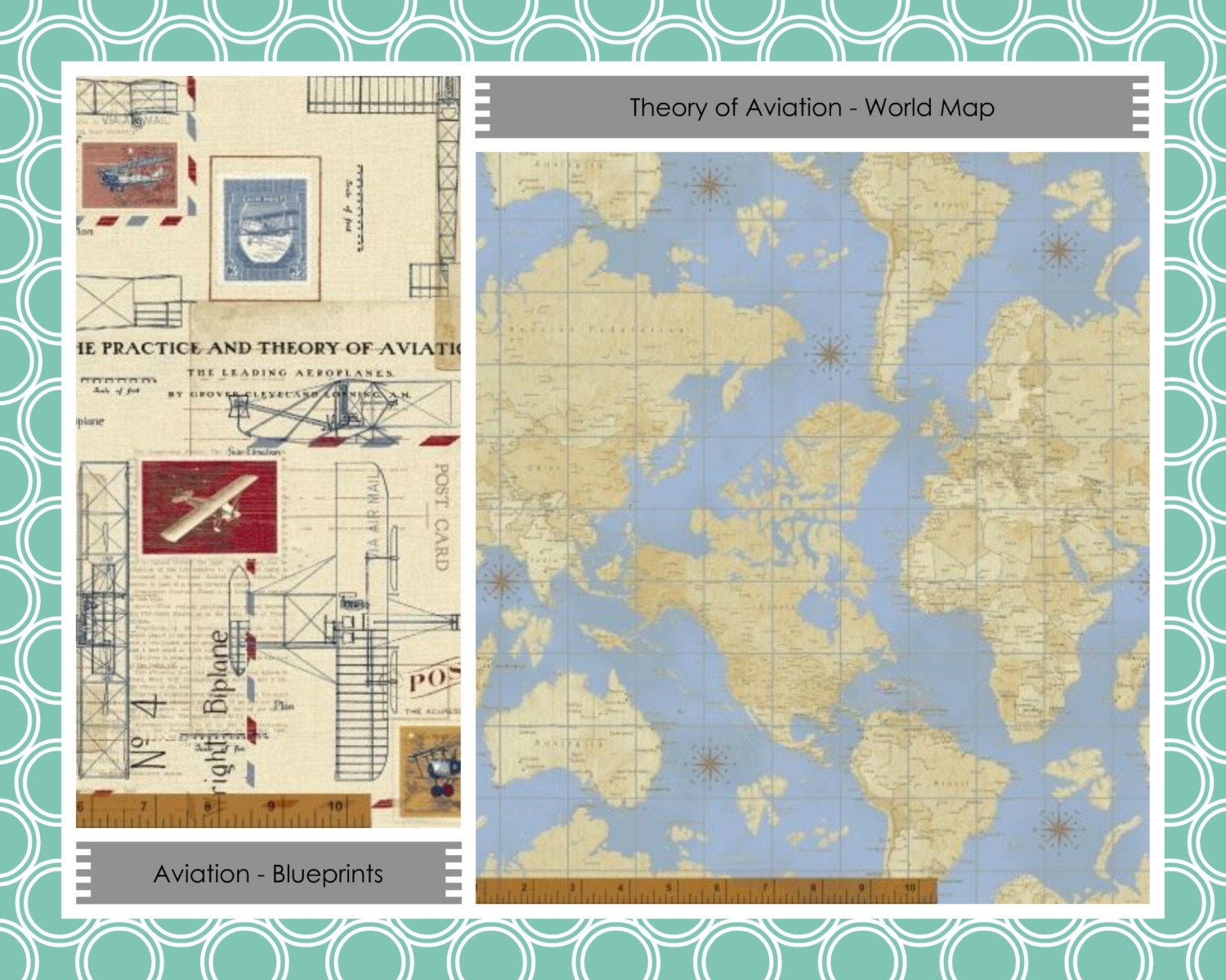 Beginner quilt kit airplane fabric kid 39 s quilt for Childrens airplane fabric
