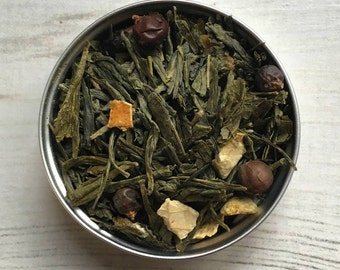 Gin and Tonic Flavoured Tea – G & Tea Green Tea – gift for gin lover – gift for tea lover – gin gift – tea gift – Mother's Day gift