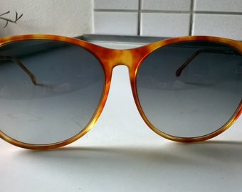 Vintage Italian sunglasses brown 70's 80's